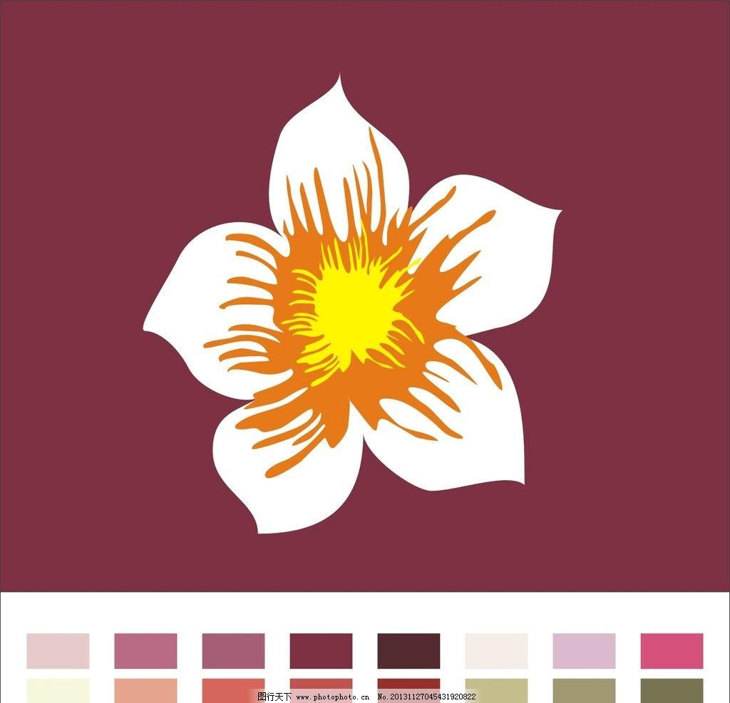 花瓣 花纹 背景 边框 圆圈 素材 底纹 花草 生物世界 矢量 cdr图片
