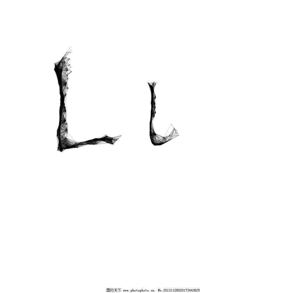 _蜘蛛网字体l图片