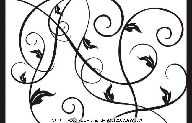 简单花纹 简约花纹 花纹 三角形 欧式花纹 花边 手绘花纹 线描花纹