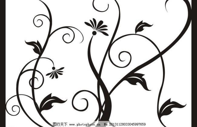 花边 手绘花纹 线描花纹 手工花纹 花纹花边 时尚花纹 纹理 底纹 条纹