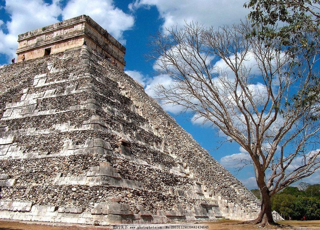 印度金字塔 建筑风景 建筑景观