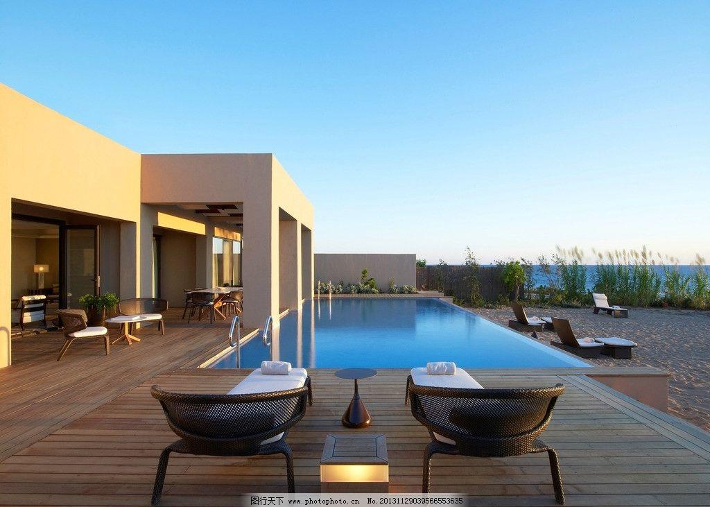 别墅 建筑 豪宅 游泳池 房子 房产 豪华 奢华 贵族 海景房 海边 海岸