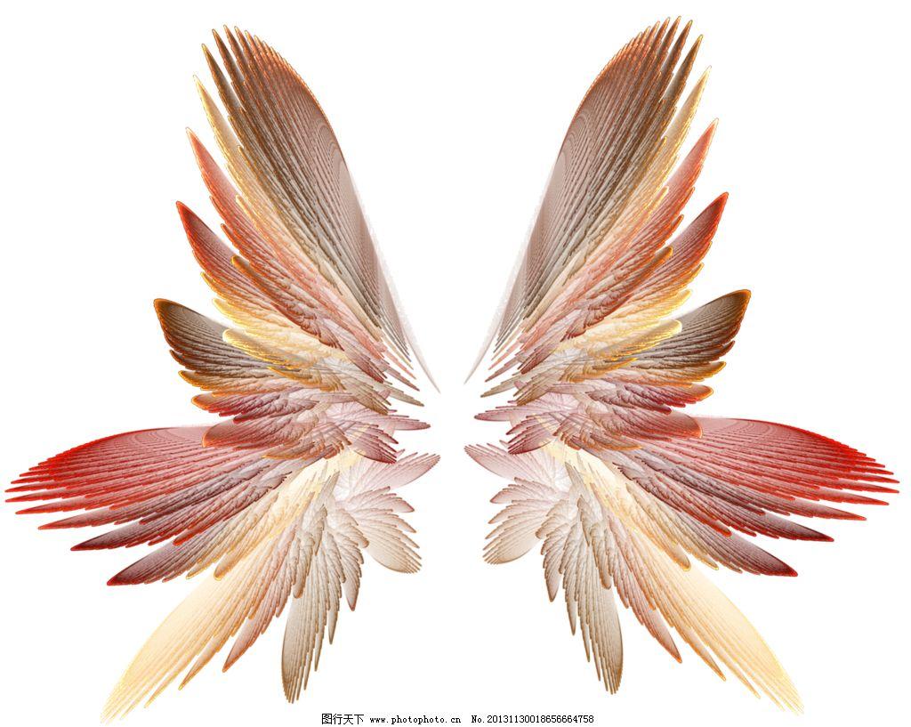 手绘翅膀 各种翅膀 酷炫翅膀 羽毛 天使翅膀 天使之翼 素描翅膀 手绘