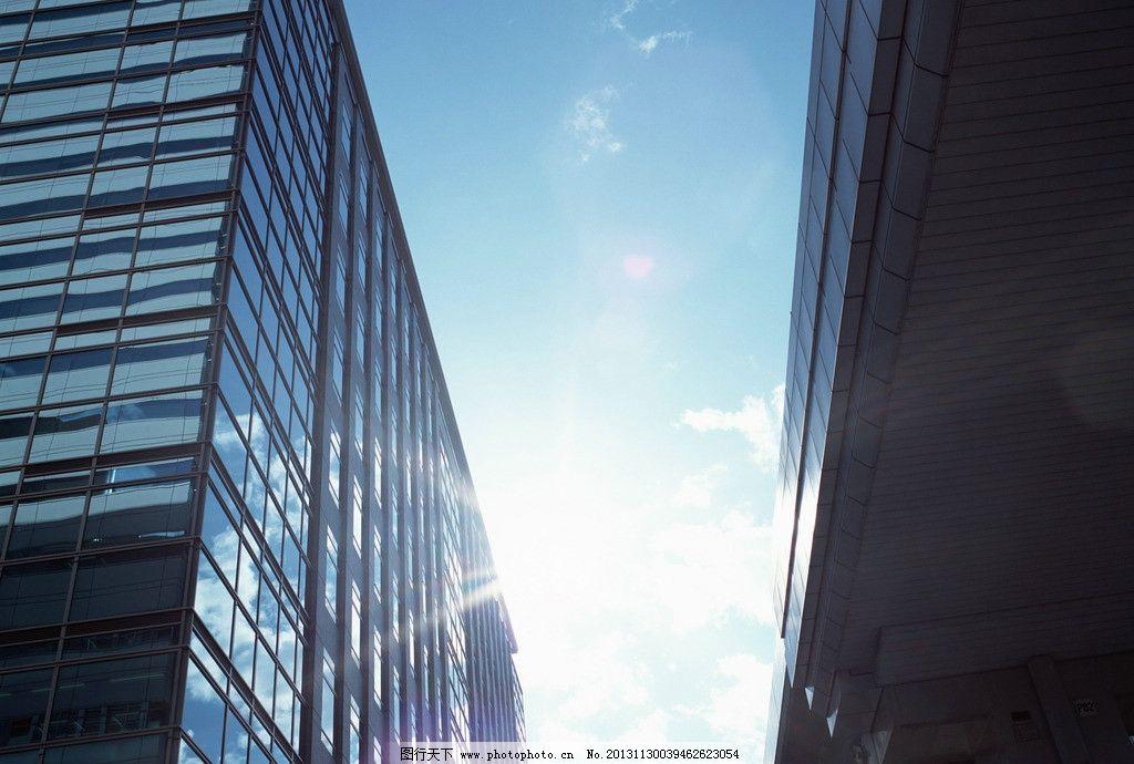 商业建筑 空间 大厦 写字楼 现代建筑 现代外观 雨棚 办公楼