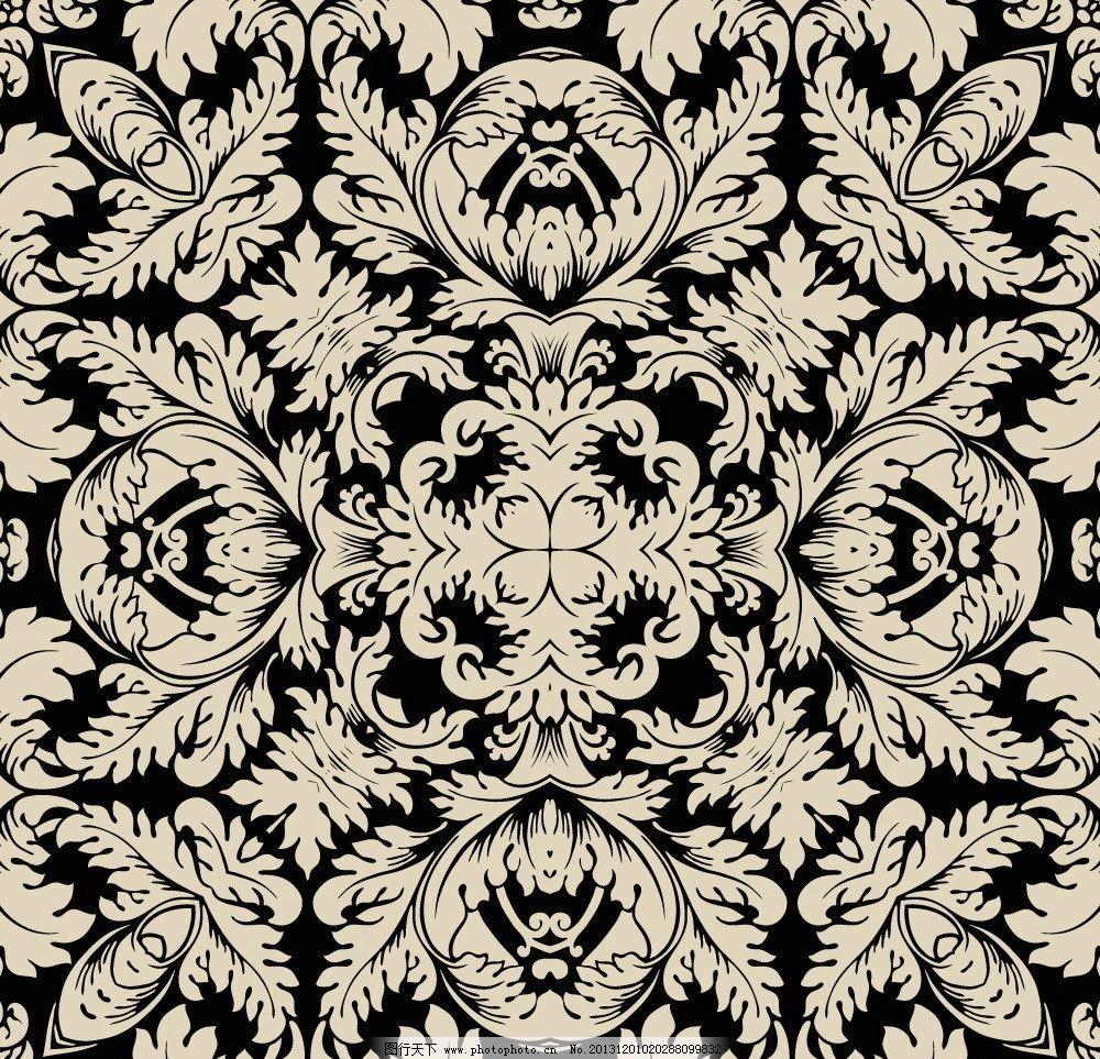 欧式花纹背景 民族装饰花纹 花纹标签 古典花纹 时尚欧式花纹 复古