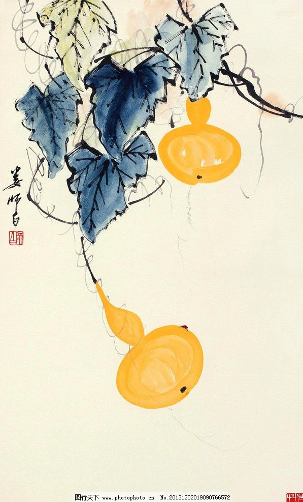 马克笔手绘  葫芦