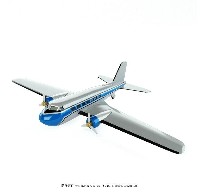 玩具飞机 饰品模型 室内模型 室内设计模型 高品质模型 古董饰品模型