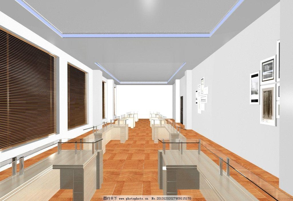 展厅效果图 展厅        3dmax 原创 灯具 室内设计 环境设计 设计 72