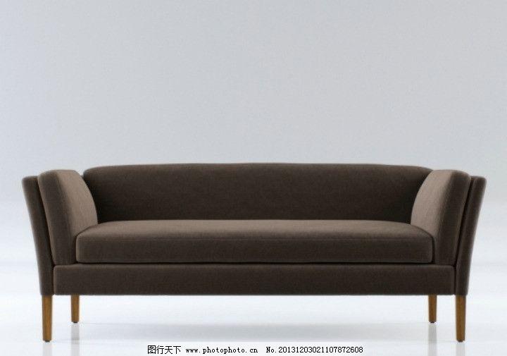 单体欧式沙发手绘图片