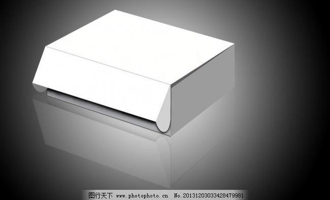 彩盒立体图