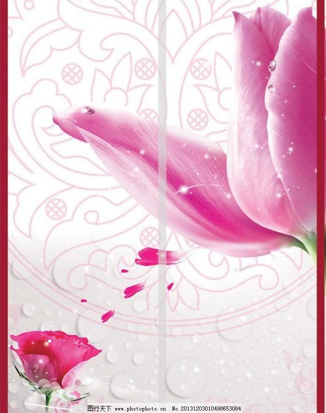 粉色 郁金香 花之语/浪漫图图片