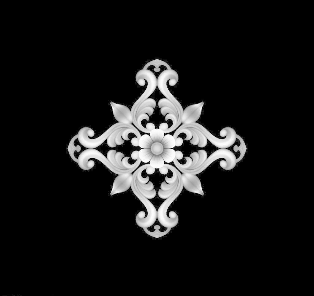 花边花纹 灰度图 精雕图 门花 木雕 欧式 欧式 洋花 门花设计素材 门