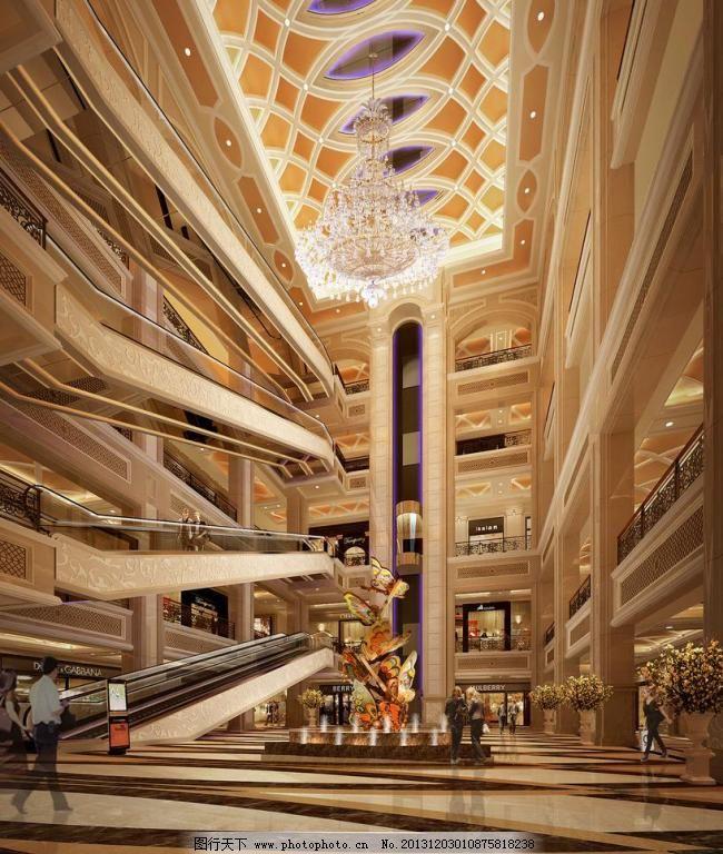 深圳市太平金融大厦中庭天井