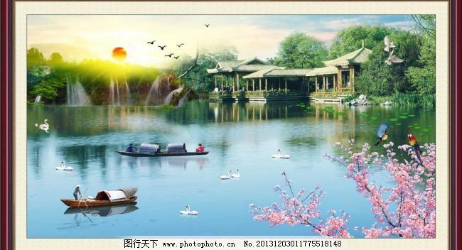 山水风景 园林风景图片