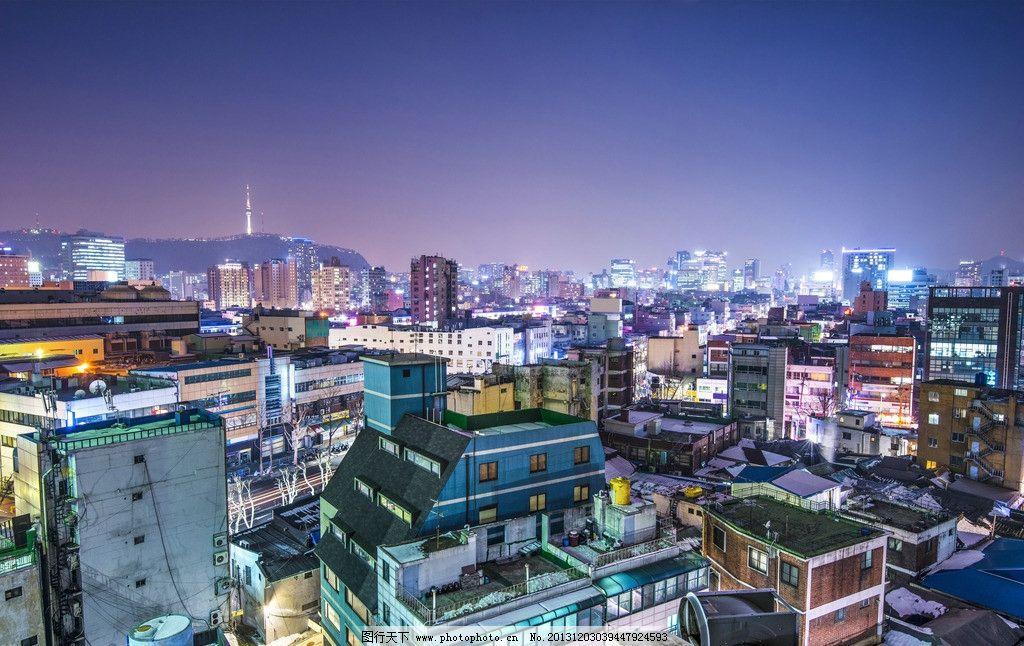 城市夜景 城市建筑 都市 灯光 繁华 梦幻 不夜城 世界著名建筑