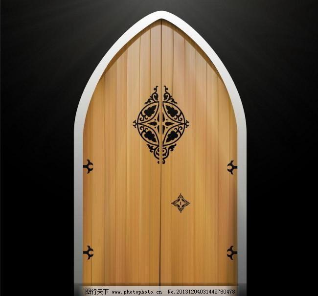 木纹木板矢量 底纹背景