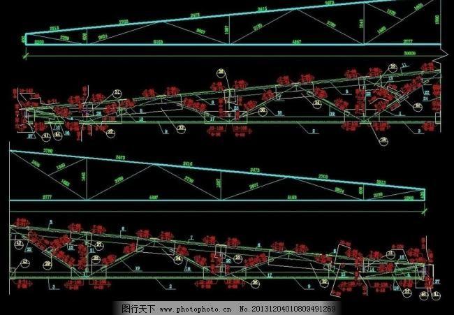 30米跨图纸钢素材儿童屋架_其他_装饰详图_图鞋垫图片梯形图片