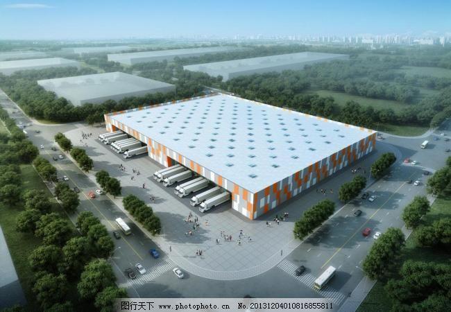 仓储物流中心设计图片