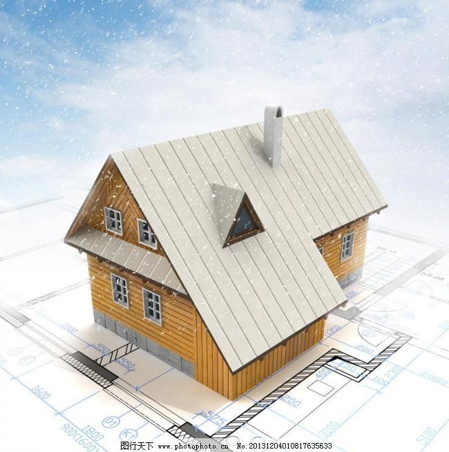 房屋模型制作图片