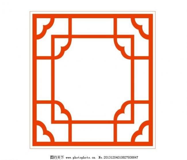 建筑剪纸图案大全图片