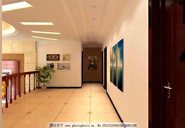 别墅地板砖过道效果图别墅客厅地板砖效果图图片9