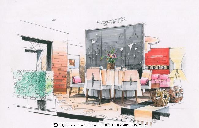景观设计 设计 设计图库 室内设计 室内手绘 手绘 作品 陈红卫作品 陈