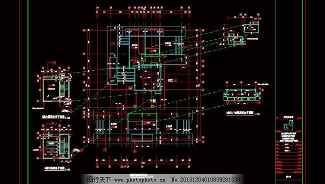 31层住宅楼屋顶水箱图片_其他_打开文件_图行13版CAD装饰如何DWG素材图片