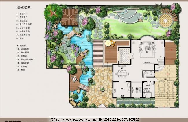 150平别墅平面设计图
