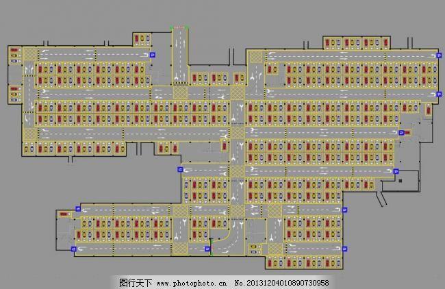 停车场规划设计图片