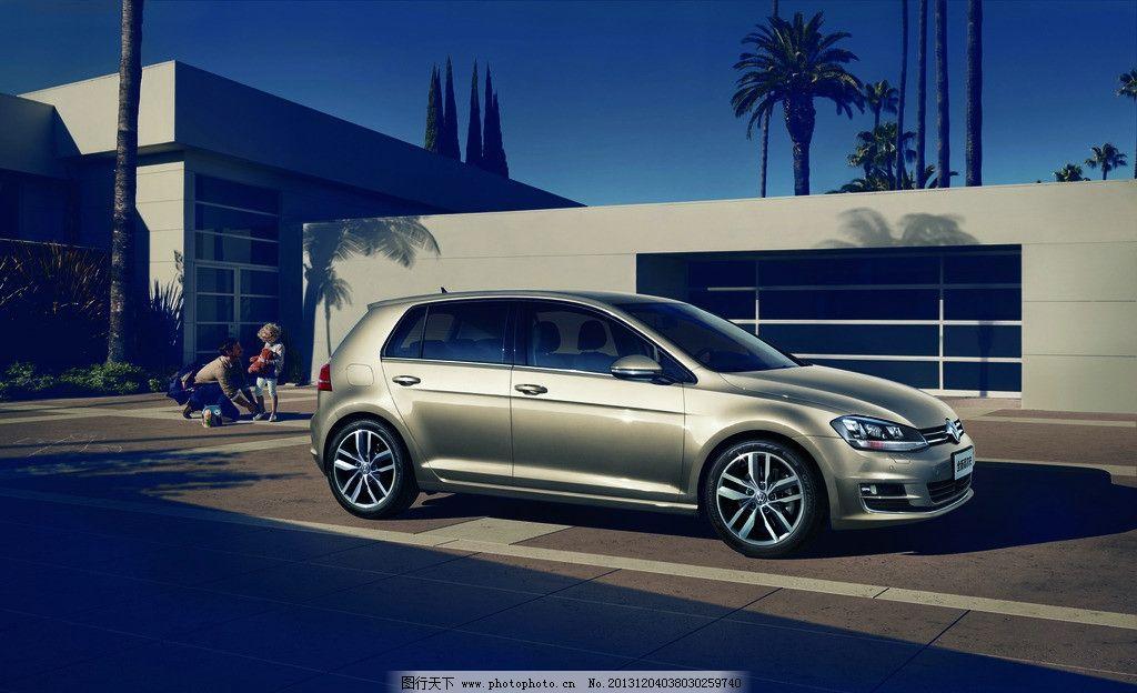 高尔夫 全新高尔夫 大众高尔夫 一汽大众 汽车海报 汽车背景 汽车广告