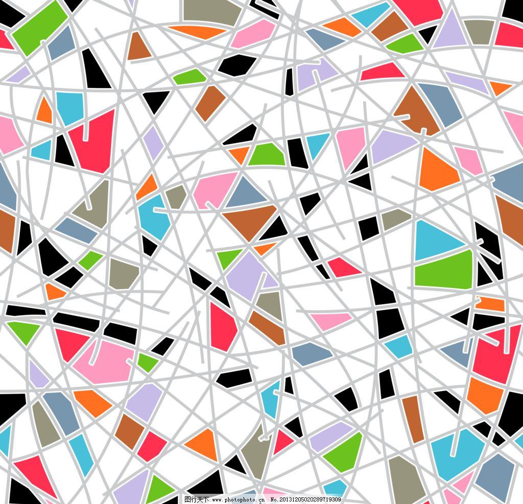 三角形 拼图 多边形图片