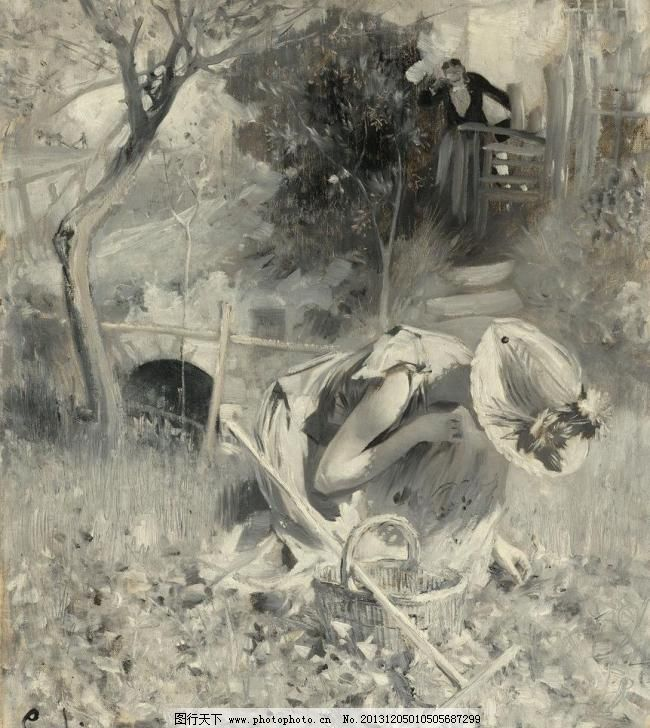 美术大师 水彩画