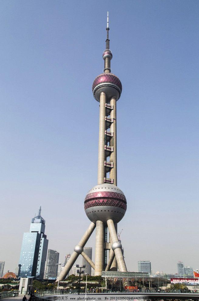 上海东方明珠电视塔图片
