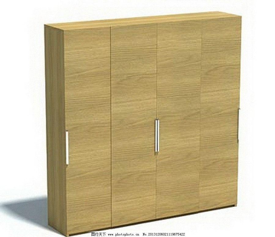 柜子 柜子模型 室内模型 木质家具      家具 电视柜 衣柜 组合柜 3d
