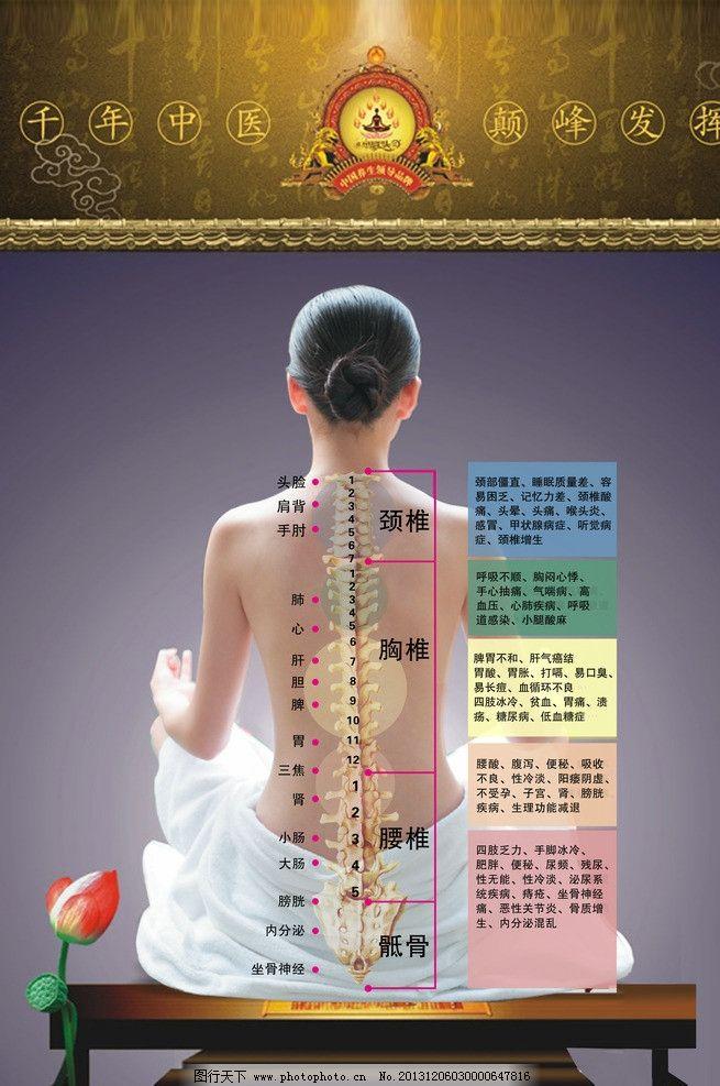 背部穴位图 穴位素材 穴位模板下载 养生 女人 中医 人体 其他人物