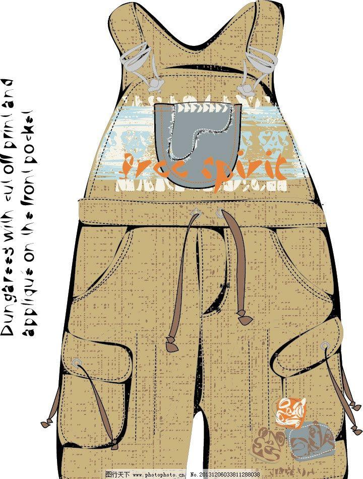 其他 其他图片素材  服装印花 裤子 印花 儿童印花 图案 图形设计