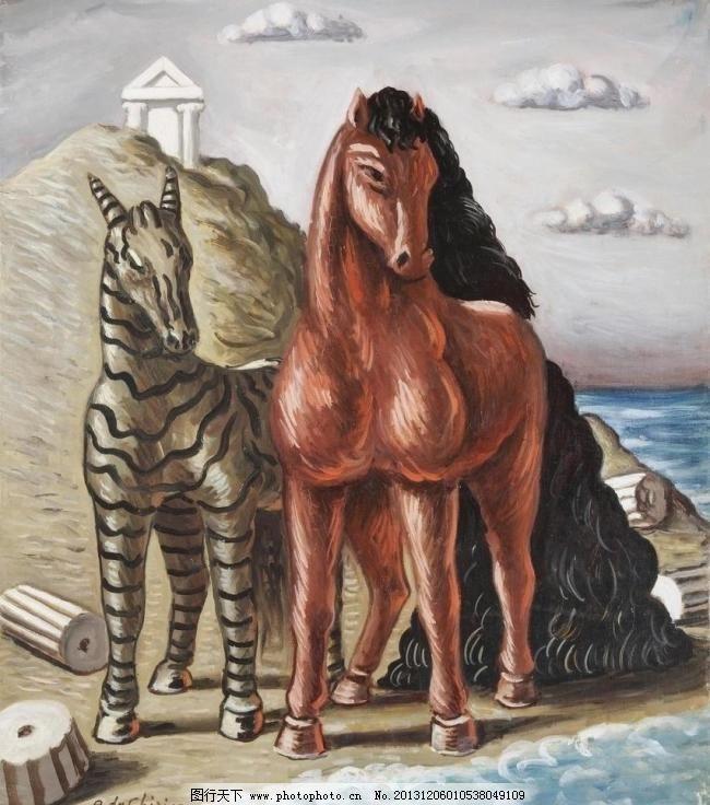 油画动物 绘画书法 肌理 喷绘 清晰 手绘 文化艺术 无框画 油画动物