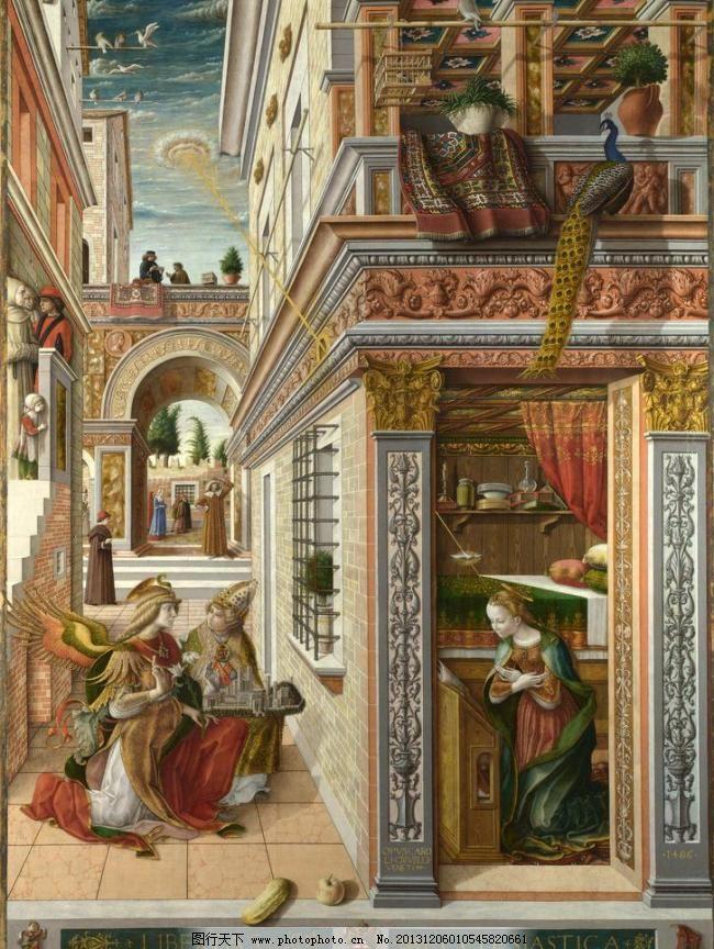欧式吊顶圣母壁纸