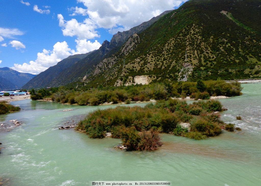 西藏川藏大自然风景图片