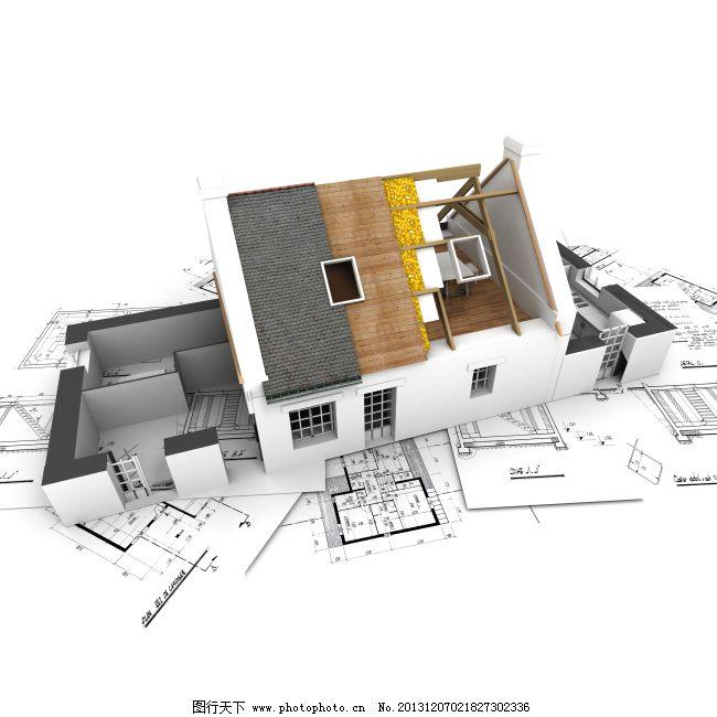 房屋图免费下载 房屋背景 房屋图案 房屋背景 房屋构造图 图片素材 3d