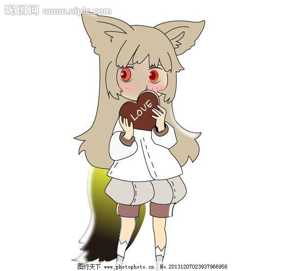 剑灵 游戏人物 剑灵女角色 可爱 萌 其他人物 矢量人物 矢量 ai