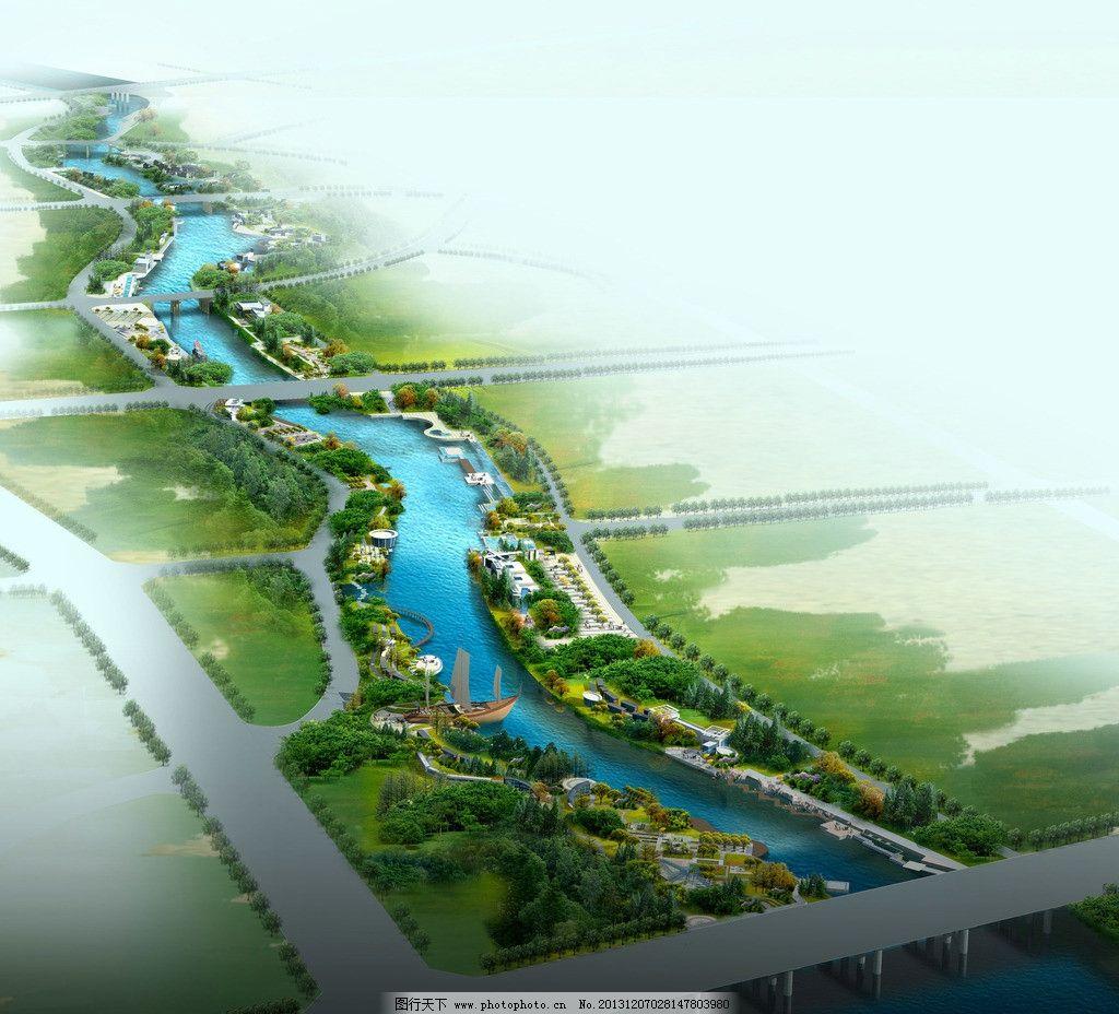 沿海城市风景图片_景观设计_环境设计_图行天下图库