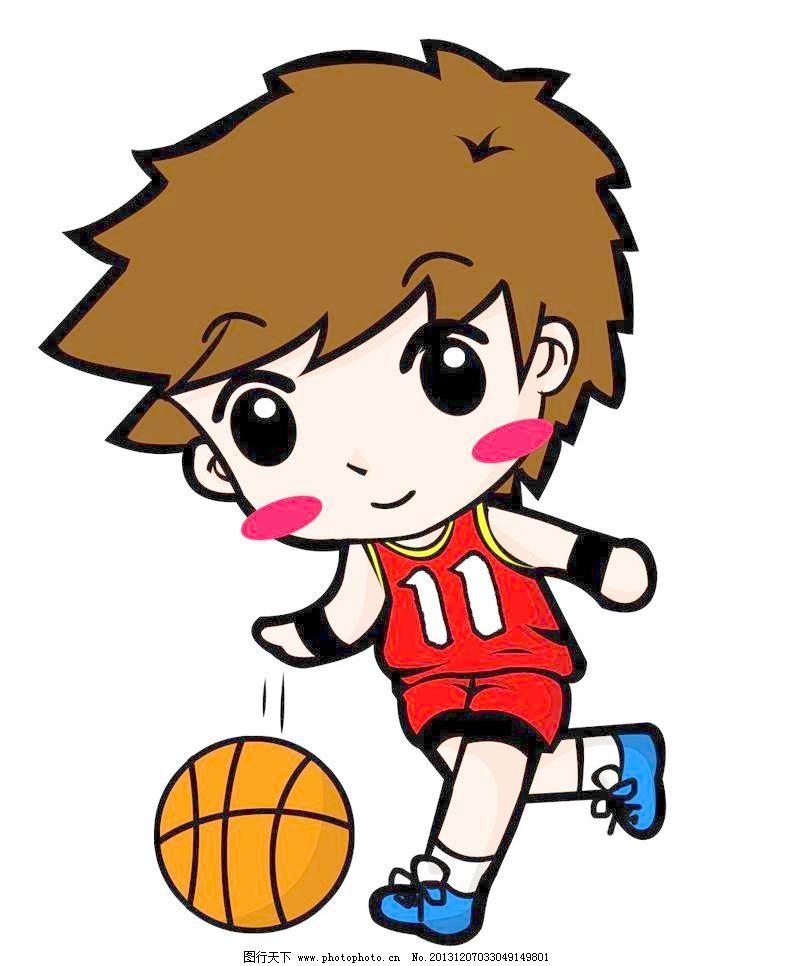 动漫 篮球/动漫人物男孩打篮球图片