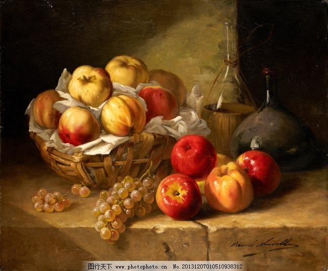 闈欑墿鏋滆敩901 (85)水果疏菜静物油画超写实主义油画静物