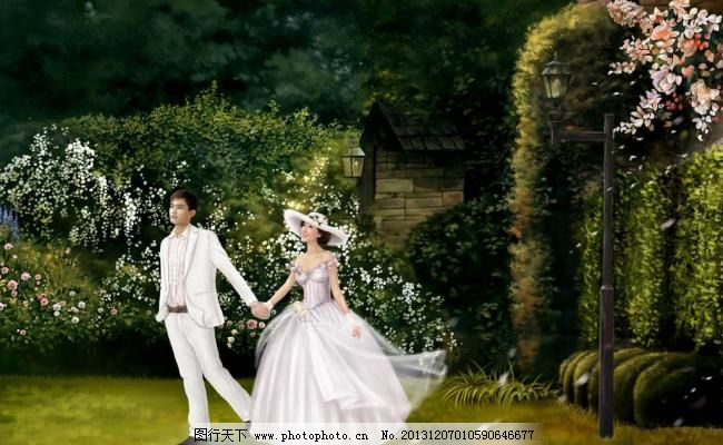 绘画书法 婚纱 几米 另类 情侣 设计 手绘摄影 另类婚纱摄影 高清设计