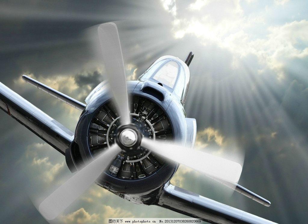 飞机螺旋桨 飞机 螺旋桨