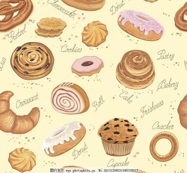 面包蛋糕图片