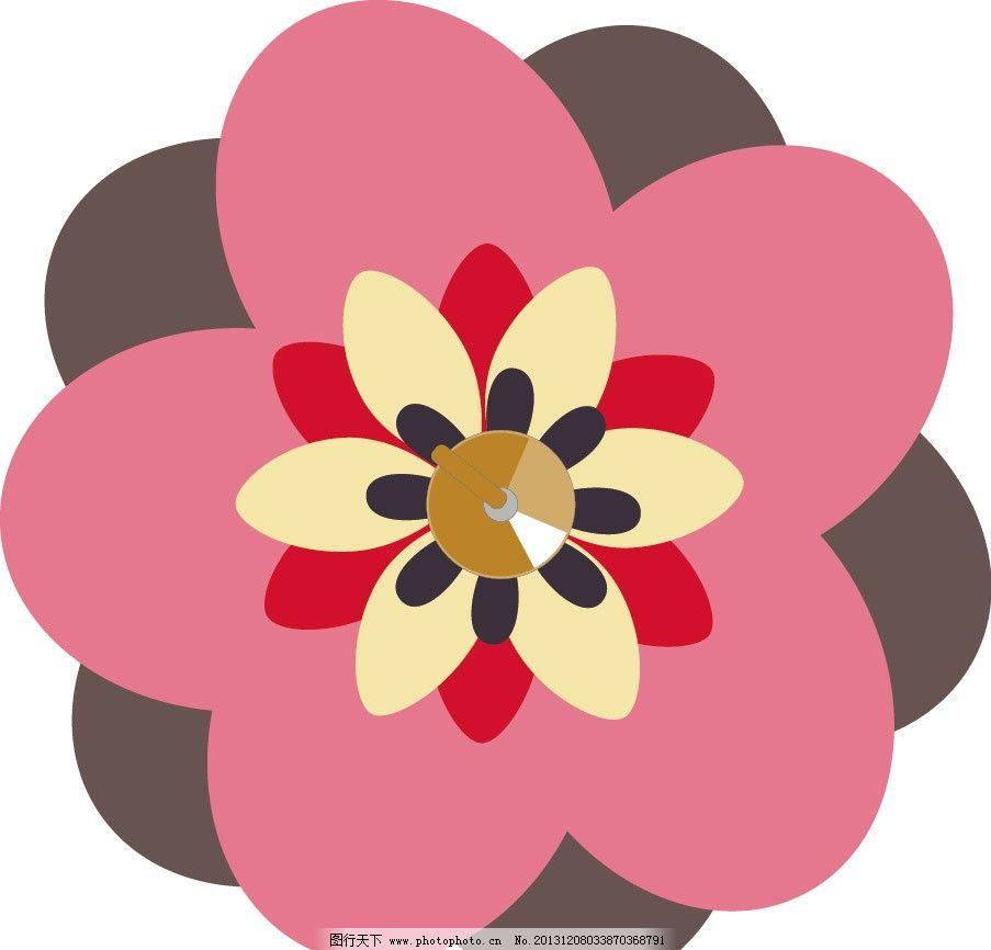 花朵 花纹 卡通 儿童 儿童印花 图案 图形设计 创意插画 插画