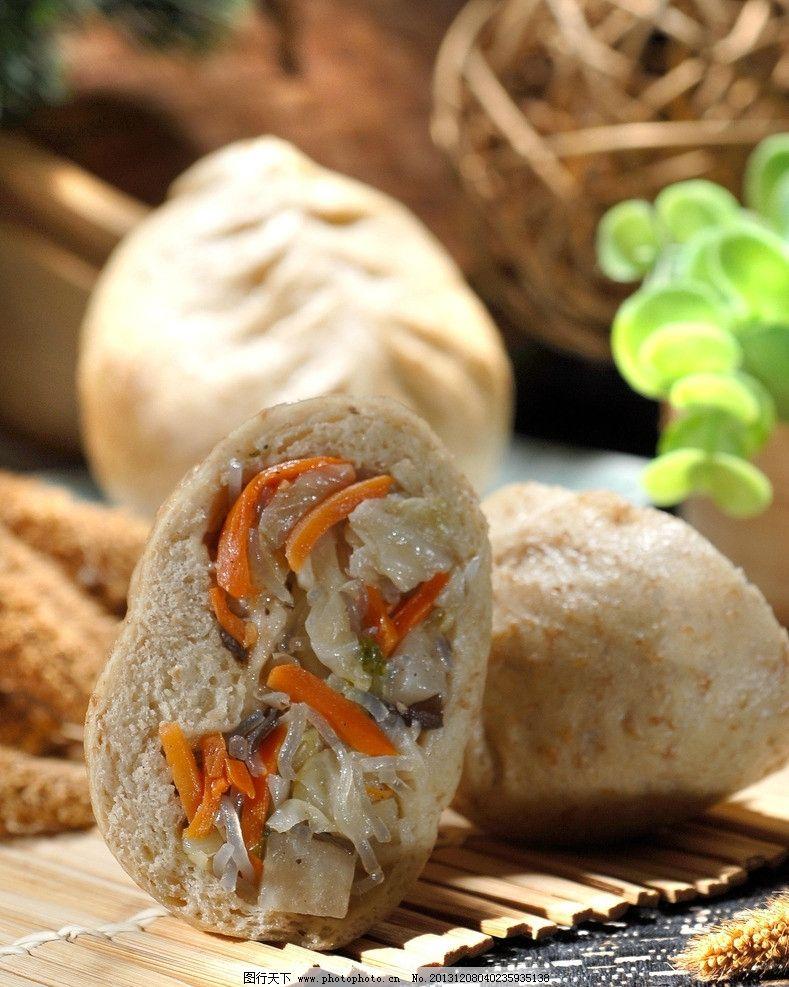 包子 素包子 素馅包子 早餐 小笼包 灌汤包 美食 美味 中餐 传统美食