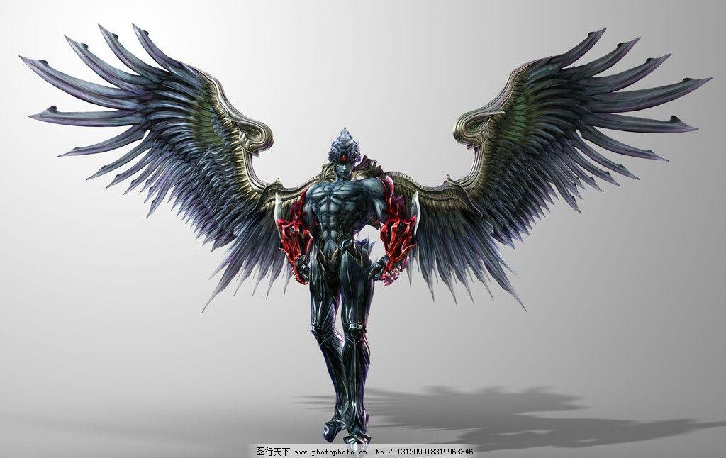 风间仁 铁拳 铁拳血之复仇 翅膀 恶魔 游戏壁纸 动漫动画